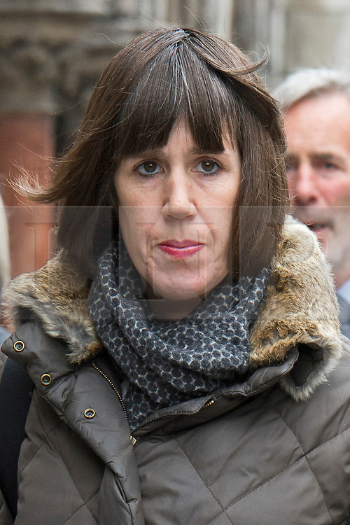 © London News Pictures. 24/04/2012. London, UK. Carina Trimingham,  Former Energy Secretary Chris Huhne's lover, arriving at the High Court on April 24, 2012 where she is suing the Daily Mail for harassment over articles about her sexuality. Photo credit : Ben Cawthra /LNP