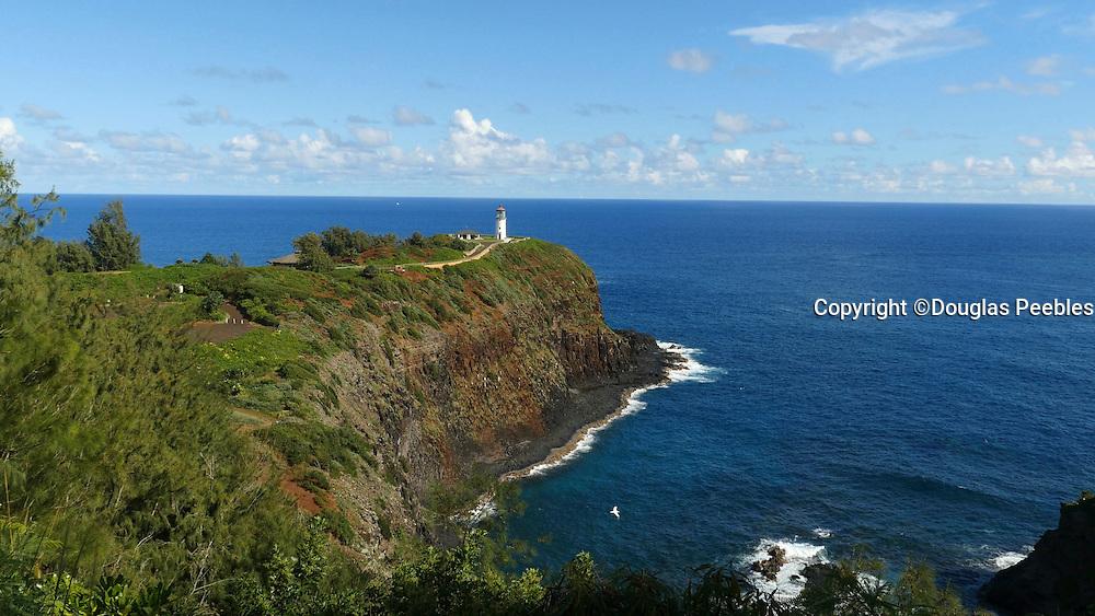 Kilauea Point National Wildlife Refuge, Lighthouse, Kauai, Hawaii