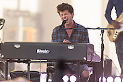 Photos of the musician Charlie Puth performing live on stage for the Citi Concert Series on NBC's TODAY Show at Rockefeller Plaza, NYC on June 17, 2016. © Matthew Eisman/ Getty Images. All Rights Reserved