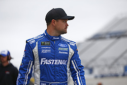October 5, 2018 - Dover, Delaware, United States of America - Ricky Stenhouse, Jr (17) hangs out in the garage during practice for the Gander Outdoors 400 at Dover International Speedway in Dover, Delaware. (Credit Image: © Justin R. Noe Asp Inc/ASP via ZUMA Wire)