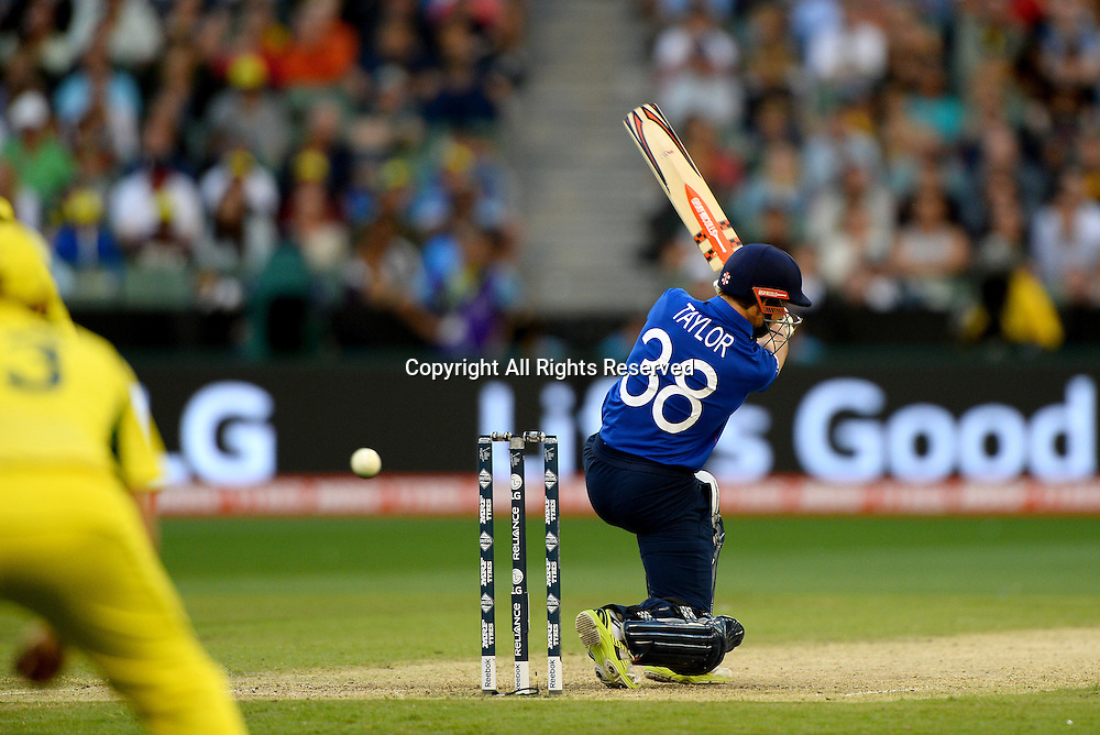 James Taylor (ENG)<br /> Australia vs England / Match 2<br /> 2015 ICC Cricket World Cup / Pool A<br /> MCG / Melbourne Cricket Ground <br /> Melbourne Victoria Australia<br /> Saturday 14 February 2015<br /> &copy; Sport the library / Jeff Crow