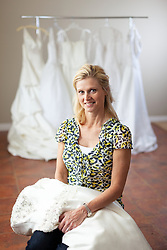 9/20/11 10:55:46 AM -- Lexington, KY, U.S.A<br />  -- Diane Cornelius of Lexington, KY is collecting wedding dresses for brides in Haiti.  Diane Cornelius brings donated wedding gowns to Haiti and holds mass weddings and sets them up with a bridal-dress-rental business, to not only lift women's spirits but help them increase their status and economic situation. -- <br /> <br /> <br /> Photo by Jonathan Palmer, Freelance
