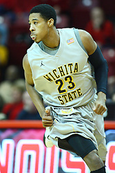 22 February 2012:  Toure' Murry during an NCAA Missouri Valley Conference mens basketball game between the Wichita State Shockers and the Illinois State Redbirds in Redbird Arena, Normal IL