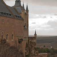 The Alcazar in Segovia, Spain.