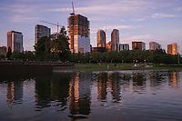 Downtown Park @ Dusk, Bellevue