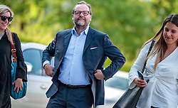 22.04.2018, Salzburg, AUT, Salzburger Landtagswahl, Wahlzentrum, im Bild NEOS Spitzenkandidat Sepp Schellhorn // during the Salzburg state election 2018 in the election center in Salzburg, Austria on 2018/04/22. EXPA Pictures © 2018, PhotoCredit: EXPA/ JFK
