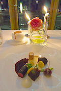 "Sylt, Germany. Hörnum. Budersand Hotel Golf & Spa. Restaurant KAI3.<br /> ""Keitumer Galloway""."