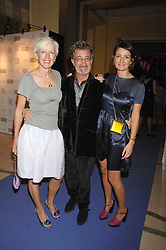 Left to right, EDDIE & MARIE JORDAN and their daughter ZOE JORDAN at the 10th Anniversary Party of the Lavender Trust, Breast Cancer charity held at Claridge's, Brook Street, London on 1st May 2008.<br />