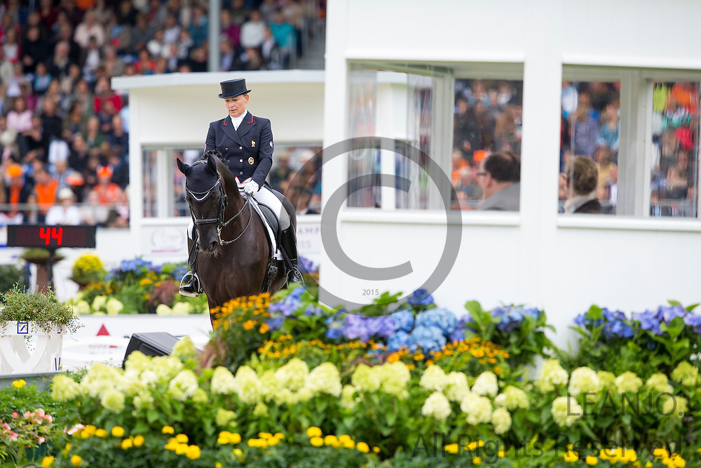 Karen Tebar - Don Luis<br /> FEI European Championships Aachen 2015<br /> &copy; DigiShots