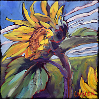 """6""""h x 6""""w, Oil on Linen Canvas<br /> SOLD"""