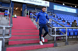 Matt Taylor of Bristol Rovers arrives at Sportsdirect.com Park for the fixture with Oldham Athletic - Mandatory by-line: Robbie Stephenson/JMP - 22/10/2016 - FOOTBALL - Sportsdirect.com Park - Oldham, England - Oldham Athletic v Bristol Rovers - Sky Bet League One