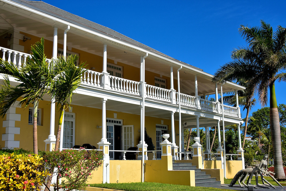 Villa Doyle Now National Art Gallery in Nassau, Bahamas <br />