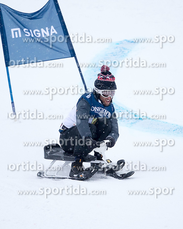 24.01.2015, Streif, Kitzbühel, AUT, FIS Weltcup Ski Alpin, Kitzbuehel, Kitz Charity Race, im Bild Daniel Ricciardo // during Kitz Charity Race of Kitzbuehel FIS Ski Alpine World Cup at the Streif in Kitzbühel, Austria on 2015/01/24. EXPA Pictures © 2015, PhotoCredit: EXPA/ JFK