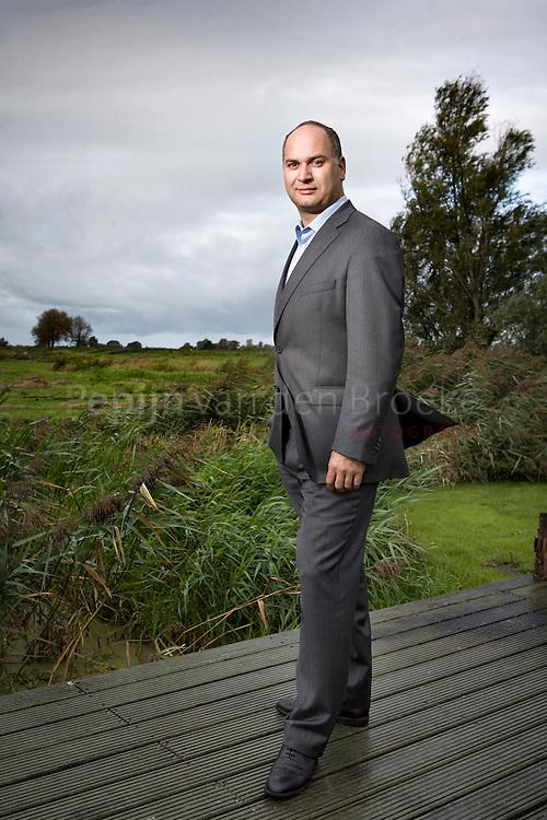 Roland Notermans van Brand@Hand Europe BV en daarvoor Superfund Asset Management in Amsterdam. Superfund is aanbieder van alternatieve beleggingsfondsen.foto: Pepijn van den Broeke