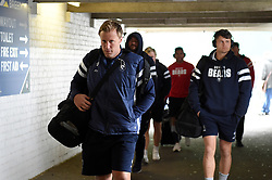 Jordan Crane of Bristol Bears arrives at Welford Road - Mandatory byline: Patrick Khachfe/JMP - 07966 386802 - 27/04/2019 - RUGBY UNION - Welford Road - Leicester, England - Leicester Tigers v Bristol Bears - Gallagher Premiership Rugby