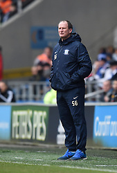 Preston North End Manager Simon Grayson on the side line at Cardiff City Stadium during the Sky Bet Championship match between Cardiff City and Preston North End on 27 February 2016 - Mandatory by-line: Paul Knight/JMP - Mobile: 07966 386802 - 27/02/2016 -  FOOTBALL - Cardiff City Stadium - Cardiff, Wales -  Cardiff City v Preston North End - Sky Bet Championship