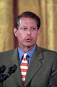 Vice President Al Gore during a White House event August 17, 1999 in Washington, DC.