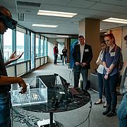 World Trade Center, Seattle Immersed: The Business of XR. Pyrus Medical holographic procedural navigation Catheye. Photo by Alabastro Photography.