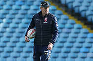 Wayne Bennett (Head Coach) during the England Rugby League captain's run ahead of the 3rd Autumn International Series Match at Elland Road, Leeds<br /> Picture by Stephen Gaunt/Focus Images Ltd +447904 833202<br /> 10/11/2018
