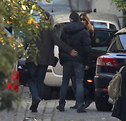 23.OCTOBER.2011. PARIS<br /> <br /> CARLA BRUNI SARKOZY AND HER DAUGHTER GIULIA ARRIVING HOME IN THE XVI DISTRICT IN PARIS, FRANCE<br /> <br /> BYLINE: EDBIMAGEARCHIVE.COM<br /> <br /> *THIS IMAGE IS STRICTLY FOR UK NEWSPAPERS AND MAGAZINES ONLY*<br /> *FOR WORLD WIDE SALES AND WEB USE PLEASE CONTACT EDBIMAGEARCHIVE - 0208 954 5968*