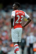Arsenal's Danny Welbeck looks on.  Barclays Premier league match, Arsenal v Manchester city at the Emirates Stadium in London on Saturday 13th Sept 2014.<br /> pic by John Patrick Fletcher, Andrew Orchard sports photography.