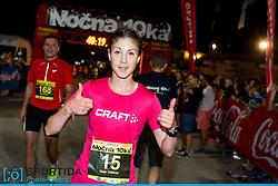 Winner, Neja Krisnar at 10th Nocna 10ka 2016, traditional run around Bled's lake, on July 09, 2016 in Bled,  Slovenia. Photo by Urban Urbanc / Sportida
