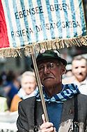 Milano, 25 aprile 2008. Corteo per la Festa della Liberazione. Deportato.