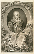 Michel de Montaigne (1533-1592) French philospher and essayist. Influential writer of the French Renaissance.