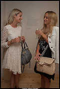 EMMA BISHOP; CHARLOTTE BLOWEN, Born in the USSR, Design exhibition opening. Gallery Elena Shchukina, Beauchamp Place, Knightsbridge. London. 15 September 2014.