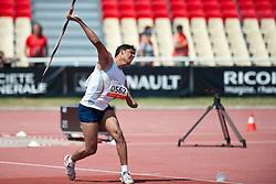 Devendra, IND, Javelin, F46, 2013 IPC Athletics World Championships, Lyon, France