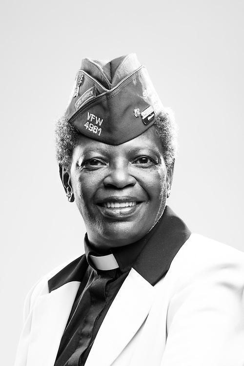 Carol F. Reese<br /> Army<br /> E-5<br /> Practical Nurse<br /> 1987 - 1995<br /> Korea<br /> <br /> Veterans Portrait Project<br /> St. Louis, MO