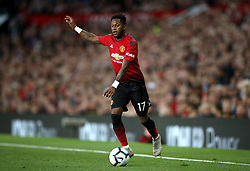 Manchester United's Fred during the Premier League match at Old Trafford, Manchester