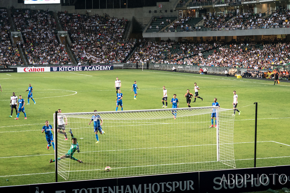 Tottenham Hotspur Football Club play in Hong Kong Spurs