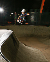 Myles Skateboarding