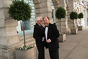 TERRY SETCH; RICHARD WILSON, RA Annual dinner 2018. Piccadilly, 5 June 2018.