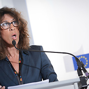 04 June 2015 - Belgium - Brussels - European Development Days - EDD - Climate - After Pam - Supporting the agri-food sectors in Vanuatu - Len Ishamel , Ambassador of the Eastern Caribbean States and Mission to the European Union © European Union