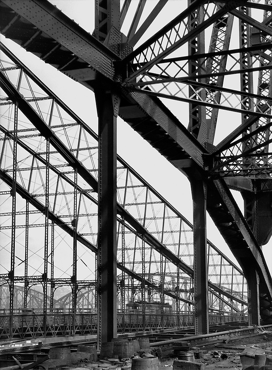 Steel structure, railway bridge, Pittsburgh, Pennsylvania, 1926