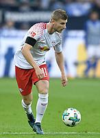 Timo Werner (Leipzig)<br /> Gelsenkirchen, 19.08.2017, Fussball Bundesliga, FC Schalke 04 - RB Leipzig 2:0<br /> <br /> Norway only