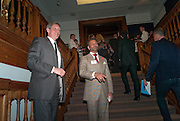 SIR NICK PARTRIDGE; FAMEED KHALIQUE, The Lighthouse Gala auction in aid of the Terrence Higgins Trust. Christies. London. 19 March 2012.