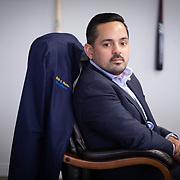 JULY 19, 2018----SAN JUAN, PUERTO RICO---<br /> Erik Rolon, Secretary of The Puerto Rico Corrections and Rehabilitation Department  which is in in the middle of a project to downsize by transferring inmates to private jails in the United States and closing institutions like this.<br /> (Photo by Angel Valentin/Freelance)