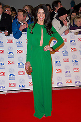 Natalie Anderson arrives at the National Television Awards at the 02 Arena, London Wednesday January 23, 2013. Photo by Chris Joseph / i-Images