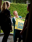 Tina Nordstr&ouml;m, Swedish chef. Campaign for client City Gross.<br /> Photo by Ola Torkelsson<br /> Copyright Ola Torkelsson &copy;