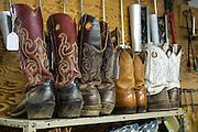 Boot repair shop in Woodward