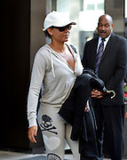 Sept. 3, 2014 - New York City, NY, United States - <br /> <br /> TV personality Mel B aka Melanie Brown leaves a downtown hotel on September 3 2014 in New York City <br /> ©Exclusivepix