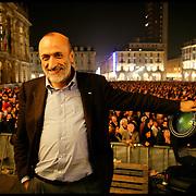 torino 28 ottobre 2006,  piazza castello slow night.©Michele D'Ottavio /Pho-to.it
