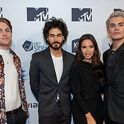 NLD/Amsterdam/20181029 - MTV pre party 2018, Rijk Hofman, Kay Nambiar, Monica Geuze en Koen Kardashian