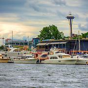 Space Needle - Lake Union - Seattle, WA