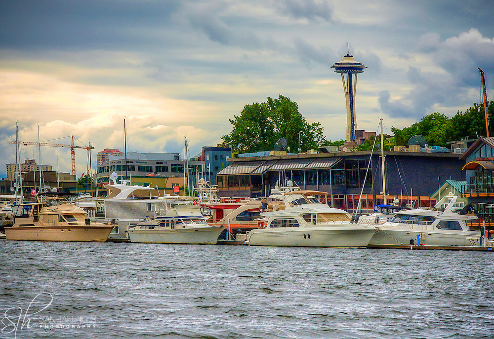 Space Needle - Lake Union - Seattle, WA