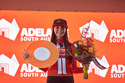 Liane Lippert (GER) is second in the general classification after Stage 4 of 2020 Santos Women's Tour Down Under, a 42.5 km road race in Adelaide, Australia on January 19, 2020. Photo by Sean Robinson/velofocus.com