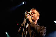 Matt Berninger of the National performs in support of High Violet on October 18, 2010 at the Fillmore Auditorium in Denver, Colorado